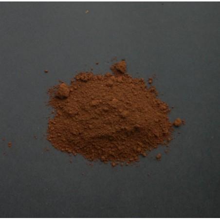 Brændt umbra rødbrun