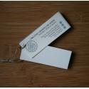 Allbäck Linoliemaling Hvid