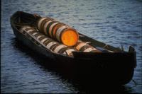 Finsk tjæremile skibslast