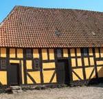 Trætjære: Bindingsværk fra 1500-tallet.