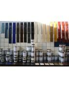 Linoliemaling med god tørring, smuk og holdbar. Allbäck Lindoliemaling. Linoliefarve