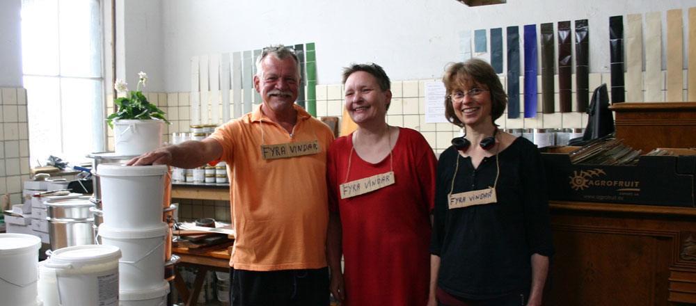 Klaus, Dorthe og Margareta